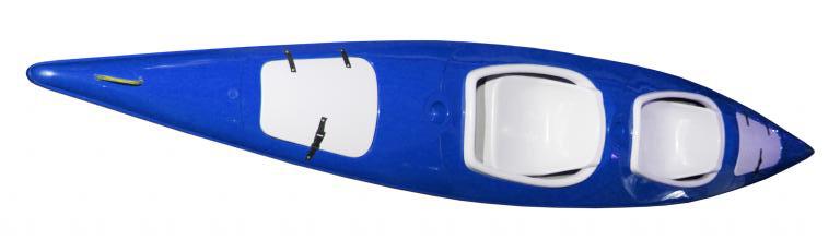 kajak augustowiak niebieski
