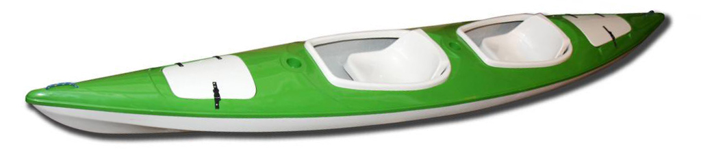 kajak augustowiak zielony